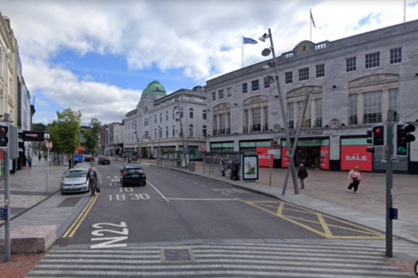 A section of Patrick Street