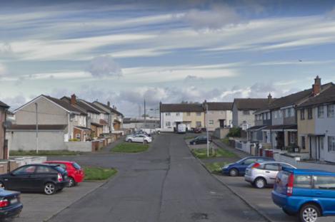 Fairlawn Road in Finglas (file photo)