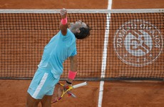 Nadal closes in on Federer's Grand Slam record by booking 13th French Open final berth