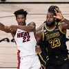 Butler puts the brakes on LA Lakers' bid for record-equalling 17th NBA title