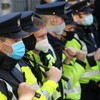 Two men arrested following protest against Covid-19 restrictions in Dublin