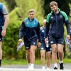 Ireland coach Andy Farrell faces anxious wait on Henderson and Larmour