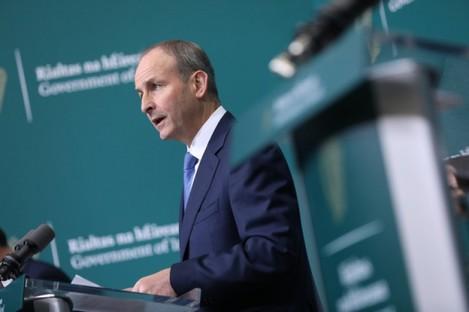 Taoiseach Micheál Martin was responding to speculation about a circuit break-type lockdown.
