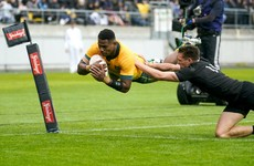 Play continues 10 minutes after hooter as All Blacks and Australia play out draw in Bledisloe Cup opener