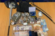 Cash, cannabis, a bulletproof vest and a BMW seized by gardaí in north Dublin