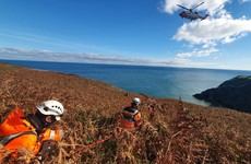 'Lucky escape' for pair rescued from cliff at Howth