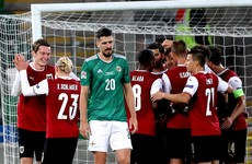 Northern Ireland brought back down to earth by Austria after play-off delight