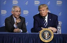 Dr Anthony Fauci condemns Trump's team for including him in a campaign advert