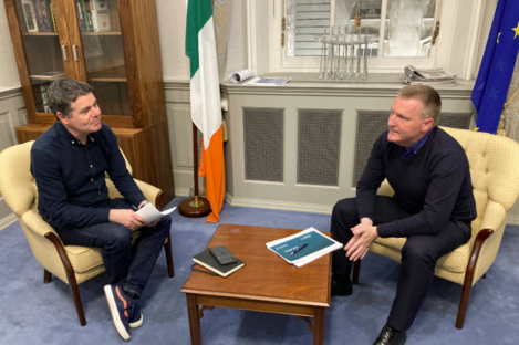 Paschal Donohoe and Michael McGrath both tweeted this image last night.