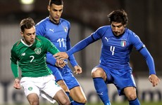 Ireland U21s 'preparing as normal' as Covid forces Italy to call upon their U20s