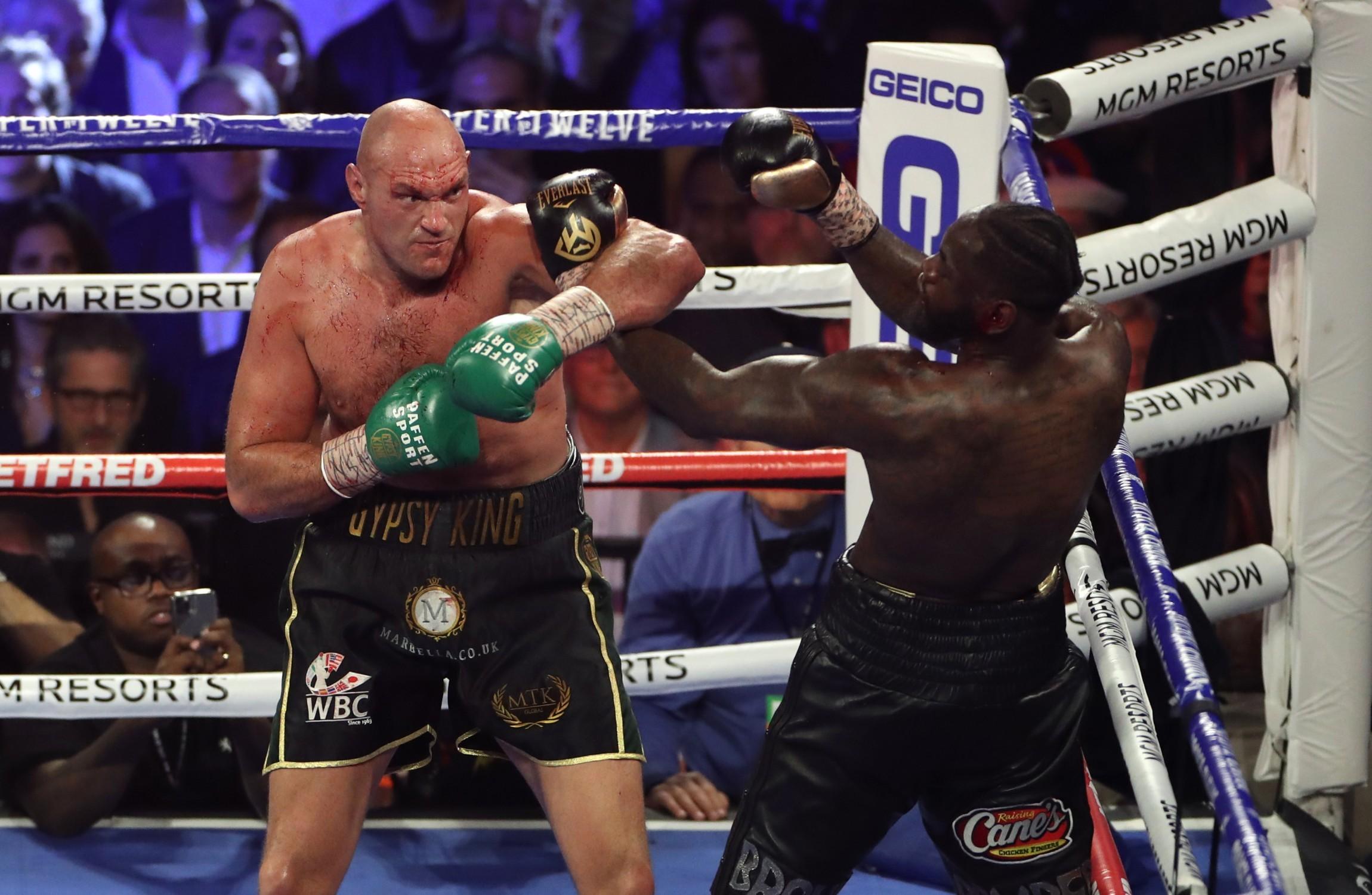 Tyson Fury's next fight won't be vs. Deontay Wilder, Bob Arum says
