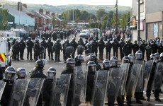 Two arrested over attacks on PSNI officers in Ardoyne