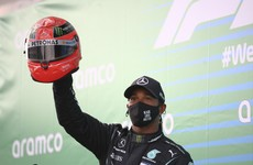 Hamilton perplexed by legends who 'have a bee in their bonnet' over his success