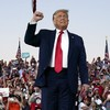 'I feel so powerful, I'll give you a big fat kiss': Trump holds first rally since Covid diagnosis