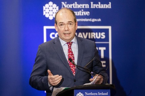 Northern Ireland chief medical officer Dr Michael McBride.
