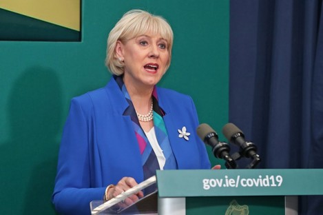 File image of Social Protection Minister Heather Humphreys.