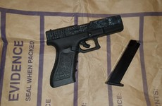 Firearm, magazine and cocaine seized during search operation in Cork
