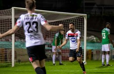 Hoban scores twice in three minutes against struggling Cork City as Dundalk climb from sixth to third
