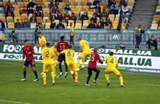 Ukraine sub strikes late to inflict surprise defeat on Spain