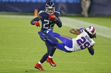 Tennessee Titans stroll past Buffalo Bills in Covid-rescheduled match
