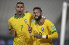 Neymar hat-trick sees PSG star surpass Ronaldo's goalscoring record for Brazil