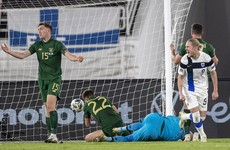 Goal-shy Ireland fall to another defeat to Finland