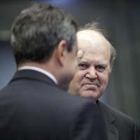 Noonan meets ECB head Draghi: Will he allow us burn the bondholders?