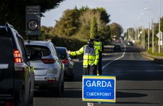 Traffic levels have fallen by 15% since introduction of Level 3 nationwide, gardaí say