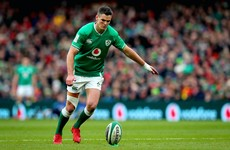 Johnny Sexton on eight-man shortlist for World Rugby Player of the Decade