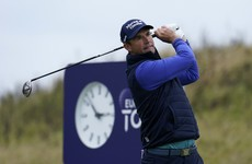 Opening round of six-under puts Pádraig Harrington in contention at Scottish Championship