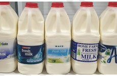 Certain batches of milk sold in Aldi, Spar and Mace being recalled due to bacteria presence
