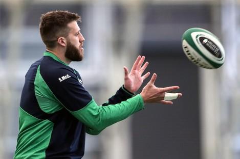 Stuart McCloskey has won just three caps for Ireland.