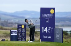 Harrington three off the lead after impressive second round at Scottish Championship