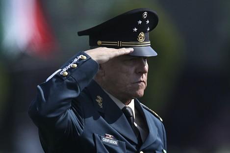 Mexico's ex-defence Secretary Gen Salvador Cienfuegos Zepeda