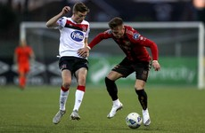 Bohs' winning run ended with draw at Dundalk