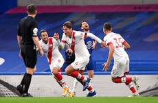 Chelsea cough up last minute goal to gift point to the Saints