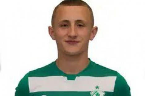 Sam Curtis, the 14-year-old who made his Shamrock Rovers debut today.