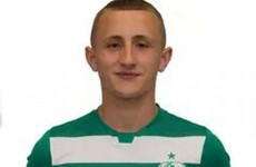 Fourteen-year-old Sam Curtis makes senior debut for Shamrock Rovers