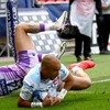 Exeter's Irish stalwarts victorious but Simon Zebo superb in defeat for Racing