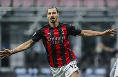 Zlatan scores twice to win Milan derby in first game back after coronavirus recovery