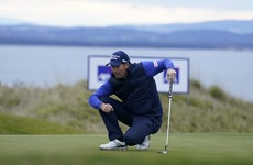 Harrington 16th at Scottish Championship but Ulster's Caldwell is fifth