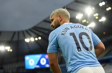 Pep Guardiola defends Sergio Aguero over contact with Sian Massey-Ellis