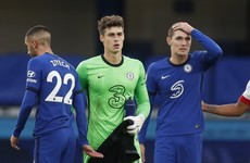 Frank Lampard defends Kepa again after keeper makes yet another blunder