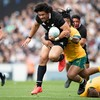 Clarke shines as New Zealand overpower Australia at packed Eden Park