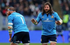 Change must come at the top in Italian rugby, says Castrogiovanni