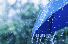 Status Yellow rainfall warning for entire country