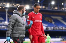 Liverpool defender Virgil Van Dijk faces long rehabilitation after knee surgery