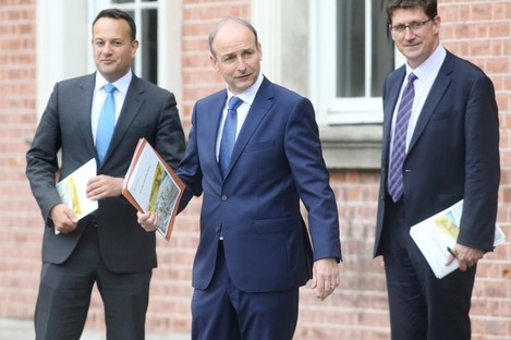 The three coalition leaders will discuss the latest restrictions again today.