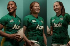 Canterbury and IRFU launch new Ireland women's home jersey ahead of Six Nations conclusion