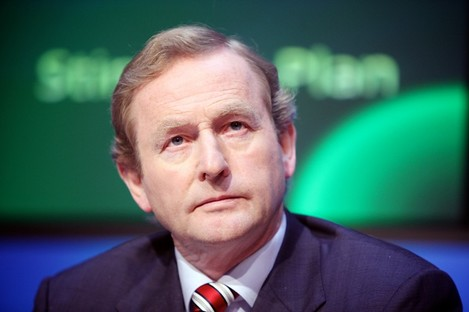Enda Kenny says today's measures do not overlap with the €17 billion capital programme the government had already adopted.
